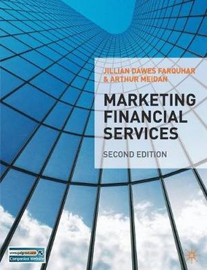 Cover of Marketing Financial Services