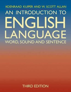 Cover of An Introduction to English Language