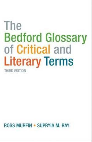 Cover of Bedford Glossary of Critical and Literary Terms