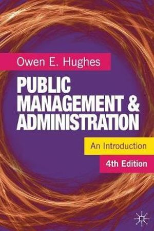 Cover of Public Management and Administration