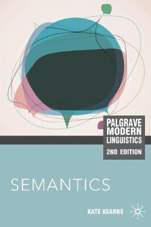 Cover of Semantics, Second Edition
