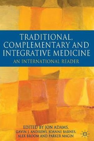 Cover of Traditional, Complementary and Integrative Medicine