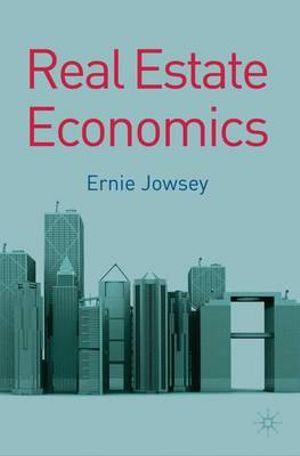 Cover of Real Estate Economics