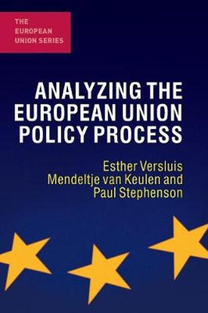 Cover of Analyzing the European Union Policy Process