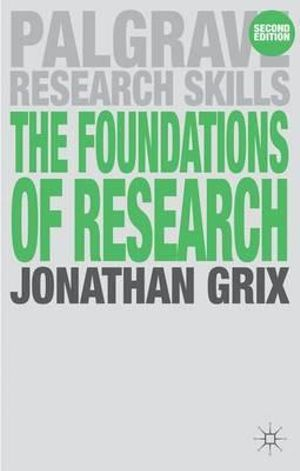 Cover of The Foundations of Research