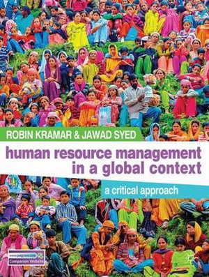 Cover of Human Resource Management in a Global Context