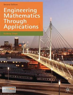 Cover of Engineering Mathematics Through Applications