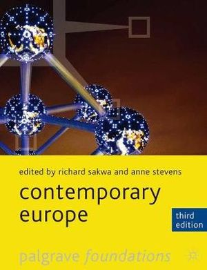 Cover of Contemporary Europe