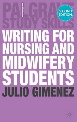 Cover of Writing for Nursing and Midwifery Students