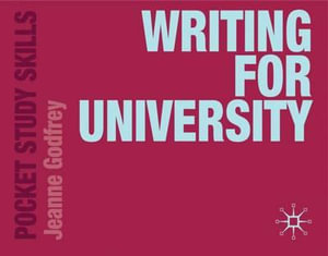 Cover of Writing for University