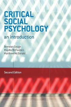 Cover of Critical Social Psychology