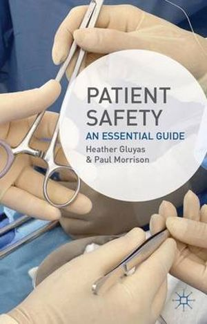 Cover of Patient Safety
