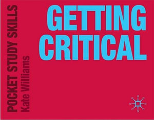 Cover of Getting Critical