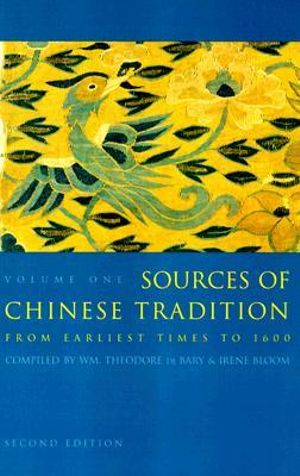 Cover of Sources of Chinese Tradition