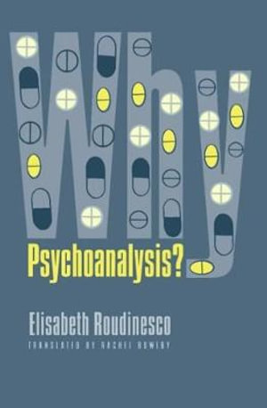 Cover of Why Psychoanalysis?