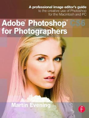 Cover of Adobe Photoshop CS6 for Photographers