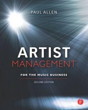 Cover of Artist Management for the Music Business