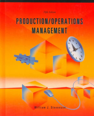 Cover of Production/operations Management