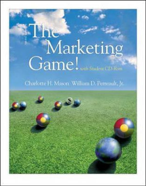 Cover of The Marketing Game!