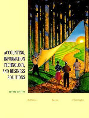 Cover of Accounting, information technology, and business solutions