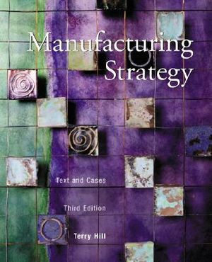 Cover of Manufacturing Strategy