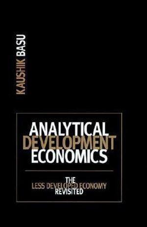 Cover of Analytical Development Economics