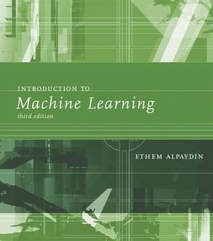 Cover of Introduction to Machine Learning