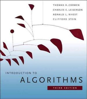 Cover of Introduction to Algorithms 3ed