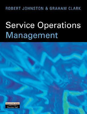 Cover of Service Operations Management