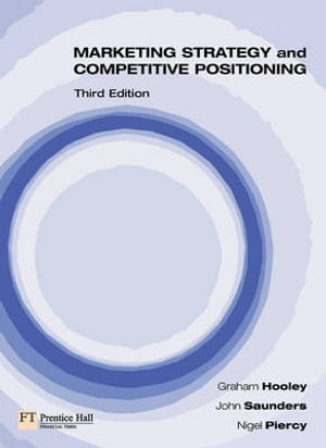 Cover of Marketing Strategy and Competitive Positioning