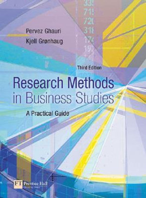 Cover of Research Methods in Business Studies