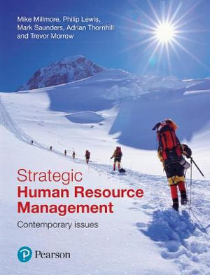 Cover of Strategic Human Resource Management Cp
