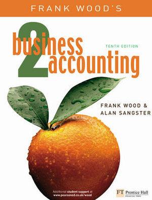 Cover of Frank Wood's Business Accounting, 2