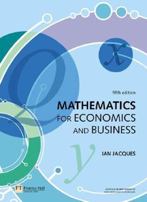 Cover of Mathematics for Economics and Business