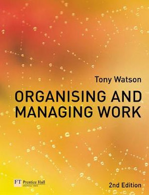Cover of Organising and Managing Work