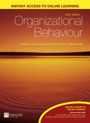 Cover of Organizational Behaviour