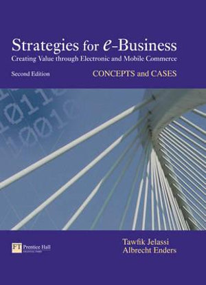 Cover of Strategies for E-Business