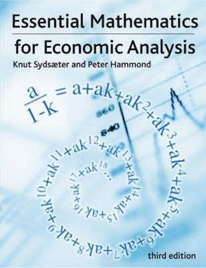 Cover of Essential Mathematics for Economic Analysis
