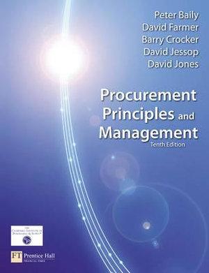 Cover of Procurement: Principles & Management