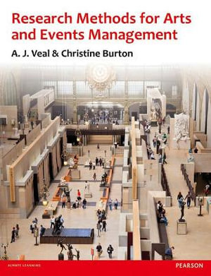 Cover of Research Methods for Arts and Event Management