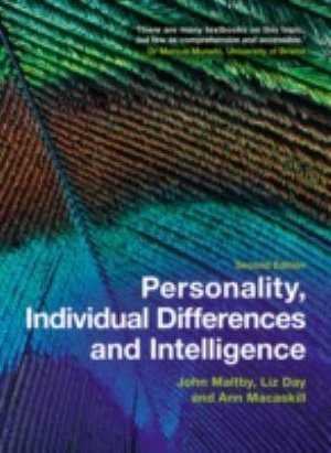 Cover of Personality, Individual Differences and Intelligence