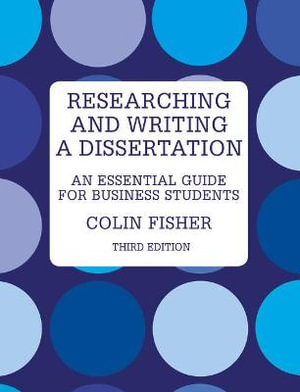 Cover of Researching and Writing a Dissertation