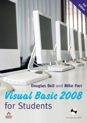 Cover of Visual Basic 2008 for Students