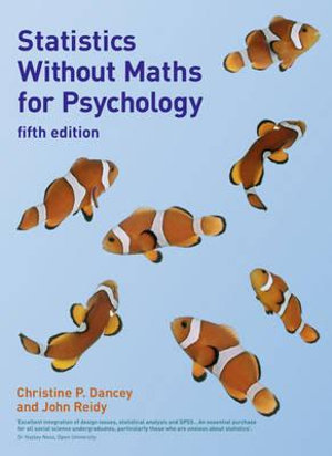 Cover of Statistics Without Maths for Psychology