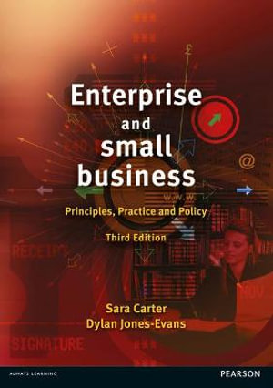 Cover of Enterprise and Small Business: Principles, Practice and Policy