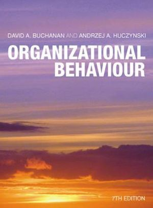Cover of Organizational Behaviour