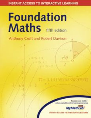 Cover of Foundation Maths