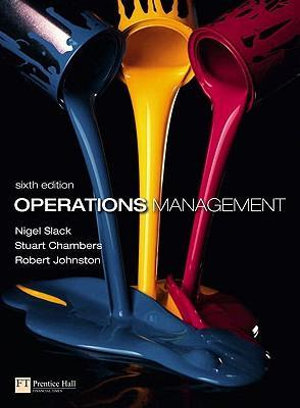 Cover of Operations Management with MyOMLab