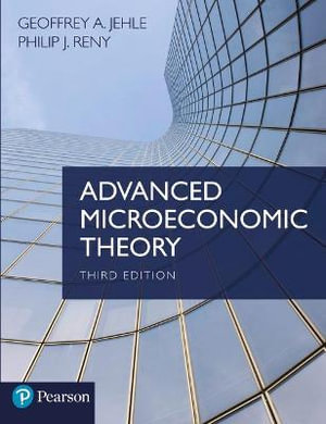 Cover of Advanced Microeconomic Theory