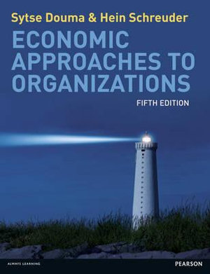 Cover of Economic Approaches to Organizations